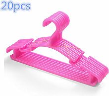 Wyctin - 20 Stück Kunststoff Kinderkleiderbügel