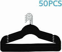 Wyctin - 50 Stück Kleiderbügel Anzugbügel