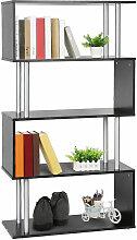 Wyctin - Buecherregal | 4 Fächer Bücherregal