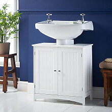 Wyctin - Waschbeckenunterschrank mit 2 Türen