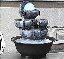 WYDZSM Einfache Innenbrunnen Wasserfall Dekoration