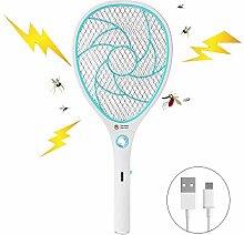 WYFC Bug Zapper Racket elektrische Fliegenklatsche