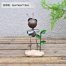 WYFC Kreative nette kleine Verzierungen nach Hause Dekorationen Ameisen Raum Ornamente Handwerk Geschenke Kinderzimmer TV-Schrank leben (kaufen. 3 1) . m