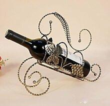 WYFC Weinregale Gusseisen.29*9.5*26CM Wein