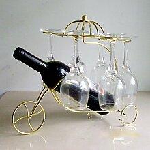 WYFC Weinregale Gusseisen.33*24*31CM Wein Zubehör