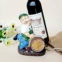 WYFC Weinregale Holz.17*12*22CM Wein Zubehör . 1