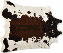 WYFFYDF Teppich, Kuhmuster, unregelmäßige