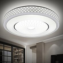 WYHlamp Modernen Minimalistischen Wohnzimmer Beleuchtung Versprechen Warme Lichtfarbe Kreative Schlafzimmer Studieren Rund Led Deckenleuchte,Fernbedienung Müssen 20 Kaufen