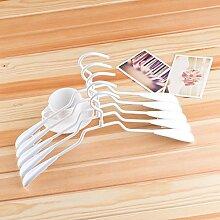 WYHYDCG 10 pezzi,nützliche erwachsene Aufhänger Anti-Rutsch-Trockengestelle Kleidung , hangers