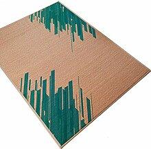 WYJW Bambusteppich für Wohnzimmertisch,