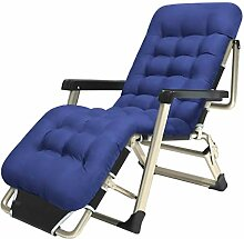 WYJW Klappgarten Lounge Stühle Schwerelosigkeit