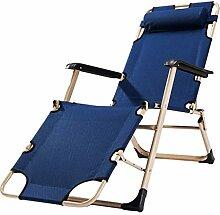 WYJW Zero Gravity Chair Verstellbarer Klappstuhl