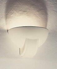 WYK GIPS WANDLEUCHTE max. 12W LED E27 WANDLAMPE