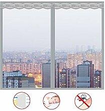 WYLF Magnet Fliegengitter Fenster Easy,