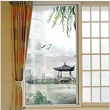 WYLLA Fensterfolie Statische Landschaftsmalerei