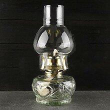 Wylolik Vintage Öllaterne, Glas Petroleumlampe