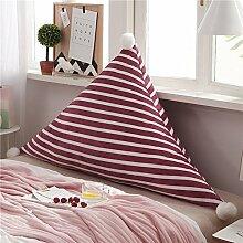WYMDCTZ Bett Dreieck Rückenpolster,Tatami-matten