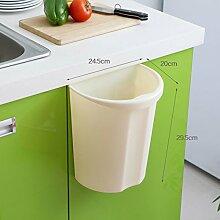 WYMNAME Abfalleimer küche Kunststoff Wandmontage