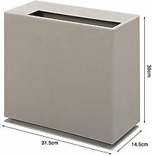 WYMNAME Papierkorb,Kunststoff mülltonnen