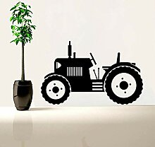 Wymw Traktor Wandtattoo Große Reifen Farmer