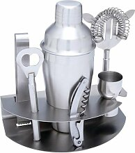 Wyndham House 7pc Stainless Steel Bar Set Cocktail