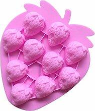 WYNYX Erdbeerform Schokoladenform EIS Candy Gelee