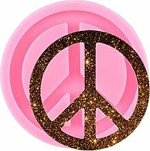 WYNYX Glänzende Friedenszeichen