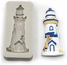 WYNYX Sea Leuchtturm -Silikon -Form -Fondant