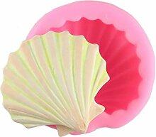 WYNYX Sea Shell Shape 3D Silikon Fondant