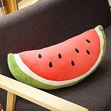 WYQLZ Cartoon schöne Wassermelone halten Kissen Home Office Sofa Kissen ( design : B )