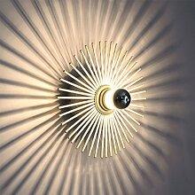 WYQLZ LED Kreative Persönlichkeit Schatten Wandleuchte Korridor Gang Moderne Einfache Balkon Dekoration Deckenleuchte ( größe : 35cm )
