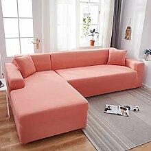 WYSTLDR Einfarbige Flexible Sofabezug im