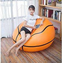 WYX Aufblasbare Basketball Sitzsack Fußball Air