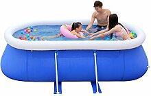 WYX Aufblasbarer Pool, Spielpool Für Familien,