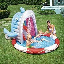 WYX Aufblasbares Schwimmbecken, Kinderspielbecken,