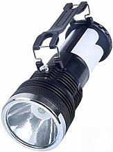 WYX Neue LED-Taschenlampe Outdoor Solar Camping