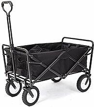 WYX Tragbarer Gartenwagen mit 4 Rädern,