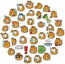 WYZNB Cute Cartoon Garfield Aufkleber Schreibwaren