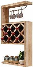 WZB Holz Wohnzimmer Weinregal |Moderne einfache