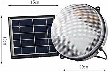 WZC Lampe 36 LED Solar Glühbirne Dual Head