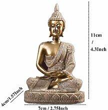 WZHR Statue Vilead 11Cm Natur Sandstein Indien