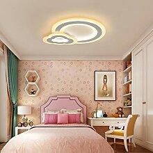 WZJ-Deckenleuchte Einfache Runde Schlafzimmer LED
