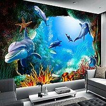 WZJam 3D Fototapete Landschaft Für Wände Ozean