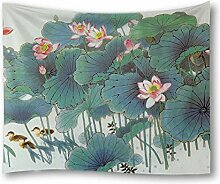 WZJam Tapisserie Polyester Teppich Wanddekoration