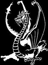 WZJam Wandaufkleber Wandbild Dragon Decor Vinyl