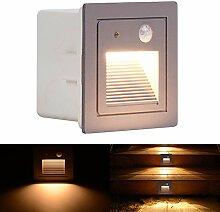 WZOED Treppenlicht mit Bewegungsmelder LED