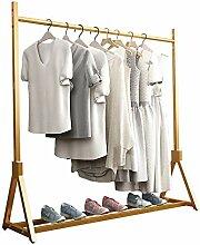 WZP Kleiderständer für Kleiderbügel, goldener