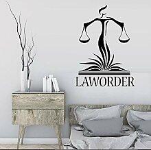 wZUN Anwaltskanzlei Wanddekoration Aufkleber