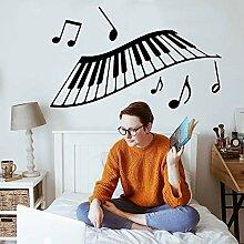 wZUN Aufkleber für Musiker zum Dekorieren von