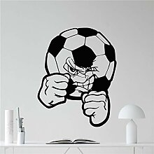 wZUN Fußball Wandtattoos Vinyl Aufkleber Sport